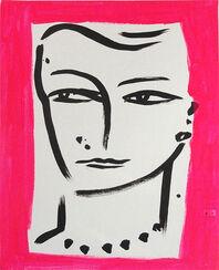 """Bild """"Eva in Pink"""" (2012) (Original / Unikat), ungerahmt"""