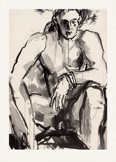 """Christine Kremkau: Bild """"Akt"""" (2011)"""