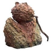 """Skulptur """"sein (mit Stock)"""" (2009), Bronze"""