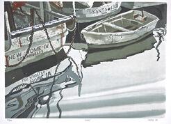 """Bild """"Boats"""" (1979)"""