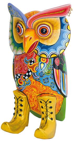 "Thomas Hoffmann / Tom's Drag: Skulptur ""Eule XL"""