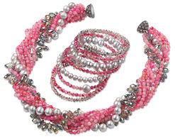 "Jewelry Set ""Pink Lady"""