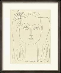 """Bild """"Femme Au Noeud Dans Les Cheveux"""" (1946)"""