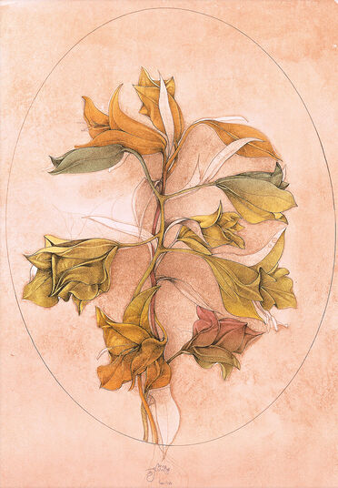 "Bruno Bruni: Picture ""A floral fantasy"" (1988)"