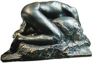 "Skulptur ""La Danaide"" (1889/90), Version in Bronze"