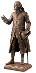 "Sculpture ""Immanuel Kant""bronze artedition"