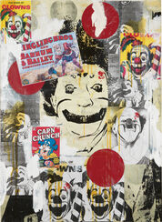 "Bild ""Going to the Circus"" (1998) (Unikat)"