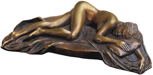 "Meta Morfosi: Sculpture ""La favorita di notte"", version in bronze"