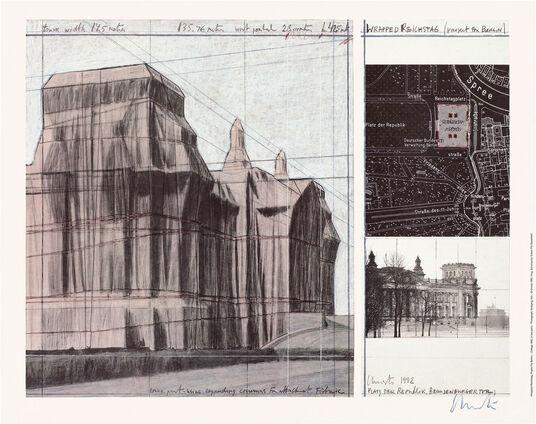 "Christo: Bild ""Reichstag I"" (1992)"