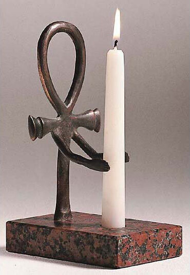 "Replica ""Torch holder"", Bronze version"