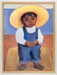 "Bild ""Porträt des Ignacio Sanchez"", gerahmt"