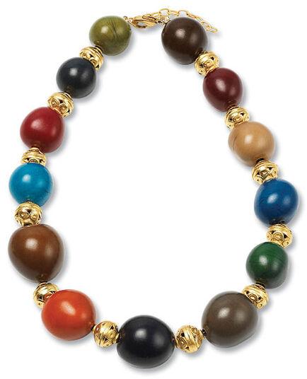 """Necklace """"Tagua"""""""