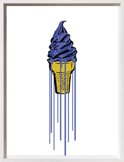 "Eliot: Bild ""Blue Glitter Icecream"" (2015)"