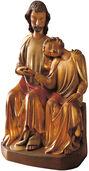 "Skulptur ""Johannes an der Brust Christi"""