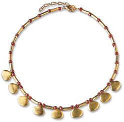 "Collier ""Goldregen"""