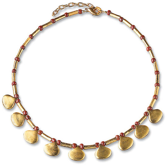 "Necklace ""Laburnum"""
