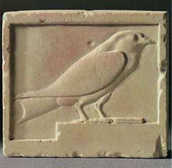 """Wall relief """"Swallow"""""""