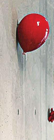 wandobjekt ballon rot keramik ars mundi. Black Bedroom Furniture Sets. Home Design Ideas