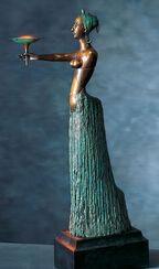 "Großskulptur ""Daphne"", Bronze"