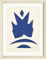 """Bild """"Poissons volants bleus"""" (1962)"""