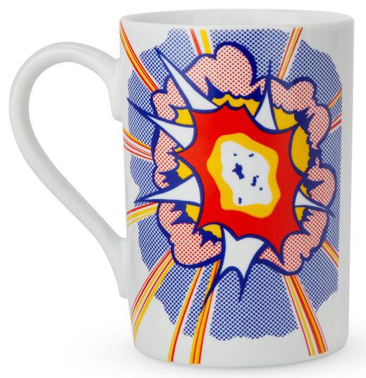 """Roy Lichtenstein: Porzellanbecher """"Explosion"""""""