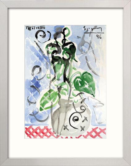 "Stefan Szczesny: Bild ""Ohne Titel"" (1996) (Original / Unikat), gerahmt"