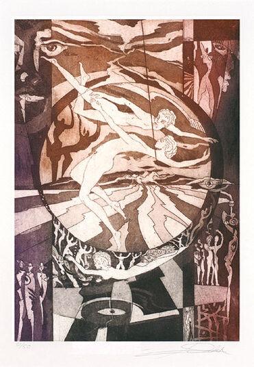 """Alfred Gockel: Bild """"Ikarus"""" (2010), ungerahmt"""