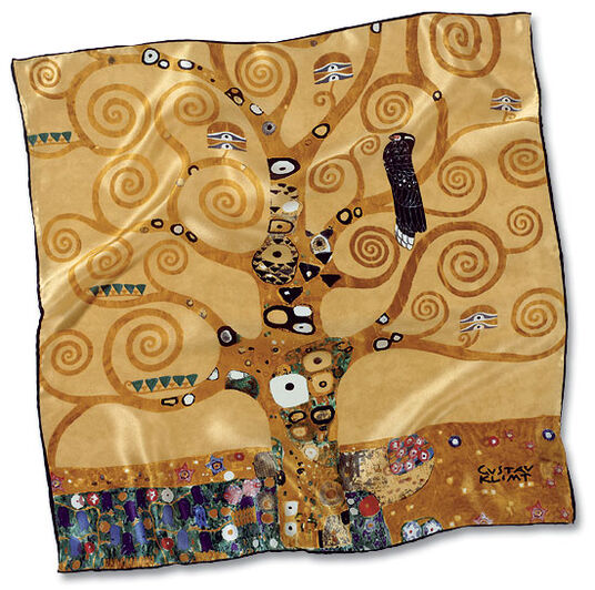 "Gustav Klimt: Scarves ""Tree of Life"""