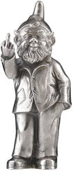 "Sculpture ""Sponti Dwarf"", Version Silvered"