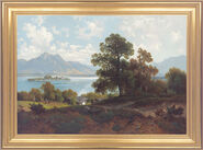 Painting 'On the Chiemsee'