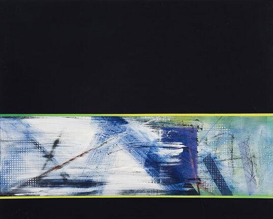"""Hans Castrup: Bild """"Ohne Titel"""" (2007/2009) (Original / Unikat), ungerahmt"""