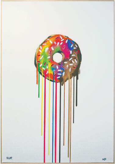 """Eliot: Bild """"Toffee Dip Donut (Delicious Toffee frosting on this special donut)"""" (2015)"""