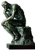 "Sculpture ""The Thinker"", 38 cm, bronze"