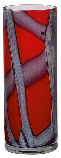"Glass Vase ""Vermelho"" (small edition)"