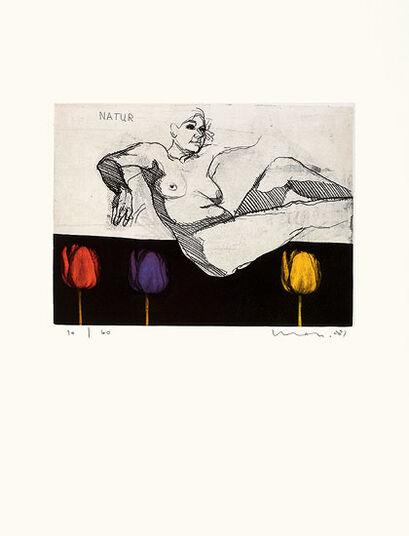"Kurt Mair: Bild ""Natur"" (2008), ungerahmt"