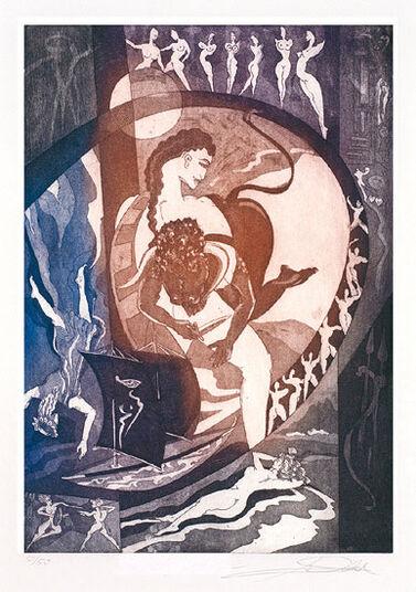 """Alfred Gockel: Bild """"Minotaurus"""" (2010), ungerahmt"""
