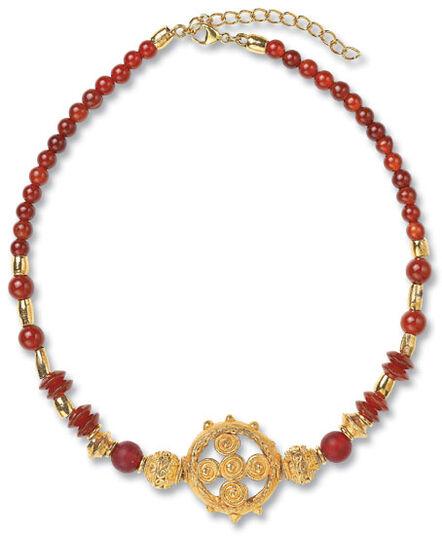 "Petra Waszak: Necklace ""Sunny"""
