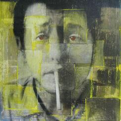 "Bild ""Bob Dylan"" (2010) (Original / Unikat), ungerahmt"