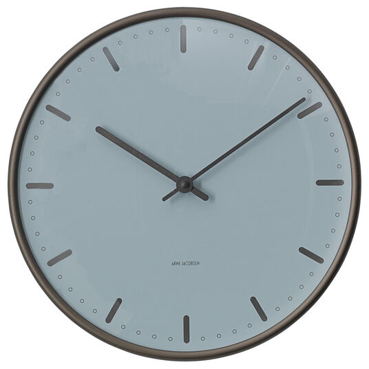 "Arne Jacobsen: Wanduhr ""City Hall Royal"" (kleine Version, Ø 21 cm)"