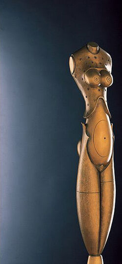 Paul Wunderlich: Sculpture 'Eve', bronze
