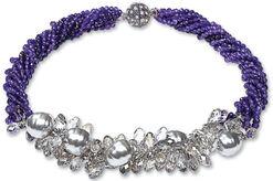 """Perlencollier """"Lovely Violet"""""""