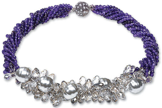 "Necklace ""Lovely Violet"""