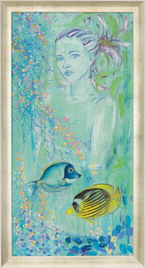"""Vlada Hauser: Bild """"Meerjungfrau"""", gerahmt"""