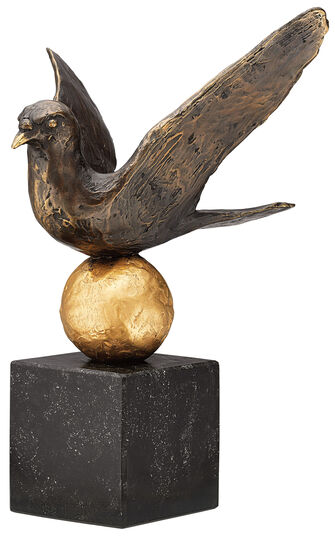 Kurt Arentz: Sculpture 'Dove of Peace', bronze