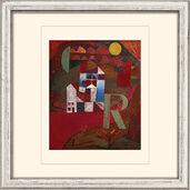 """Painting """"Villa R."""" (1919)"""