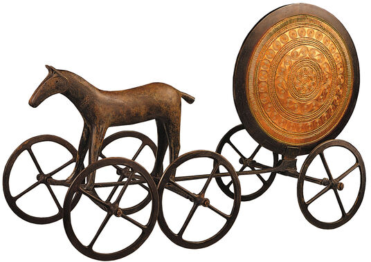 The Sun Chariot of Trundholm, original size