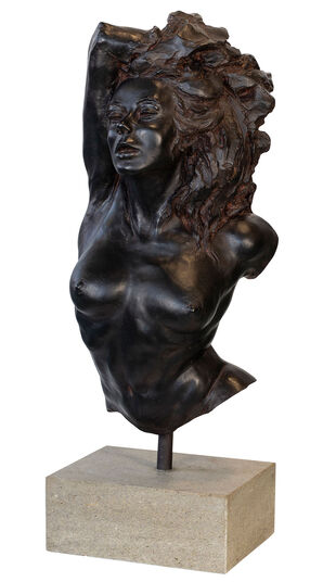 "Costanzo Mongini: Skulptur ""La Greca"", Version in Kunstbronze"
