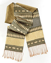 "Silk Scarf ""Sun of Africa"""