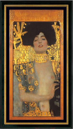 "Gustav Klimt: Bild ""Judith I"" (1901), gerahmt"