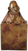 Sculpture 'Ecce Homo', bronze